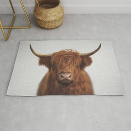 Highland Cow - Colorful Rug