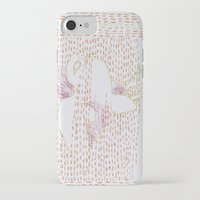 millenium falcon iPhone & iPod Cases featuring Falcon by Julia Walters Illustration