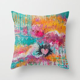 Love to Laugh Throw Pillow