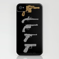 A long time ago with a blaster far, far away... iPhone (4, 4s) Slim Case