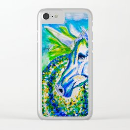A Unicorn Named Aurora Clear iPhone Case
