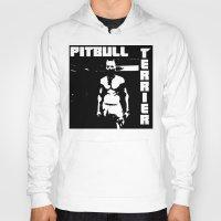 pitbull Hoodies featuring Zef Pitbull by Jera Sky
