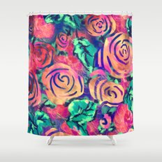 Cira Flora Shower Curtain