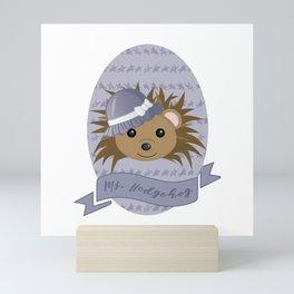 Ms. Hedgehog Mini Art Print