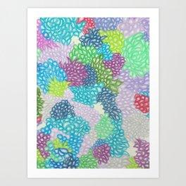 Explosions of Love Art Print