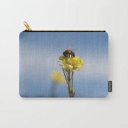 Honey bee on a wildflower Carry-All Pouch