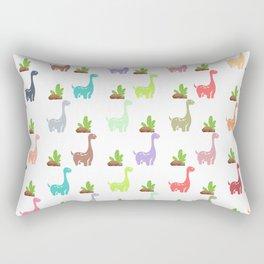 Dinosaur World Rectangular Pillow