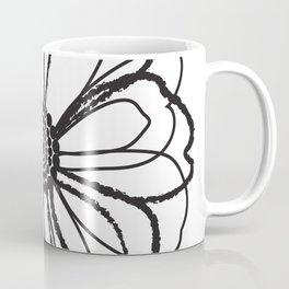 Anemone - Monotone Perennial Coffee Mug