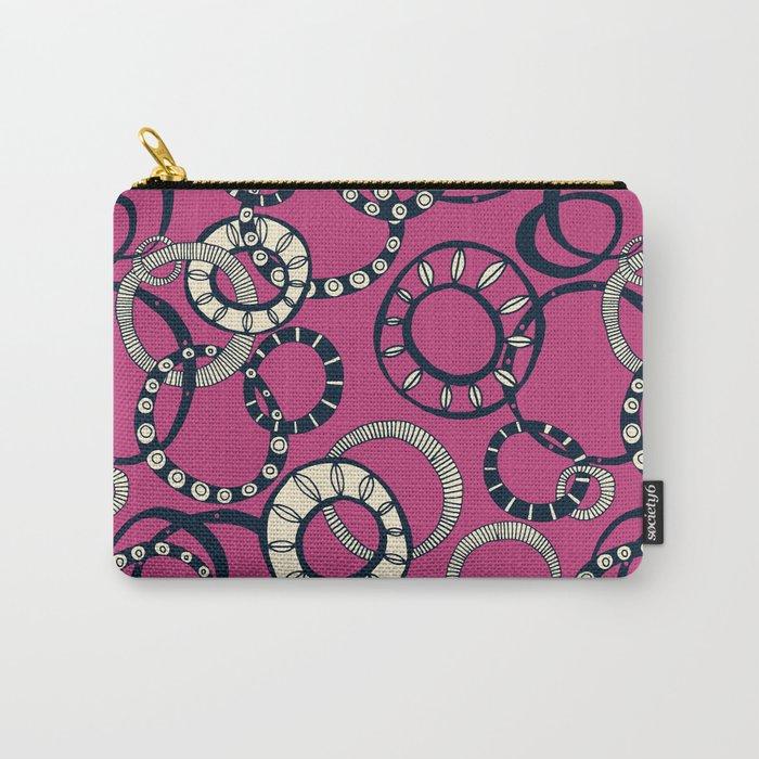 Honolulu hoopla pink Carry-All Pouch