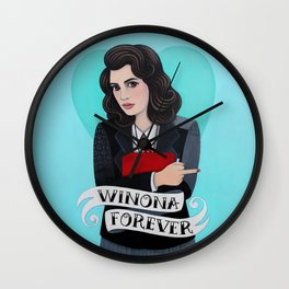 Winona Forever Wall Clock