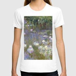 """Claude Monet """"Water lilies""""(2) T-shirt"""
