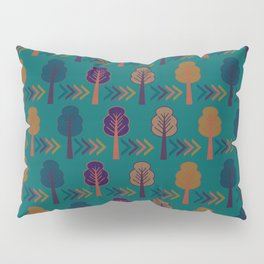 Trees and arrows Pillow Sham