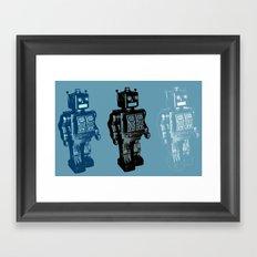 Automaton March Framed Art Print