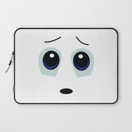 Vulnerable Smiley Face Laptop Sleeve