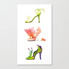 Fantasy Shoes Canvas Print