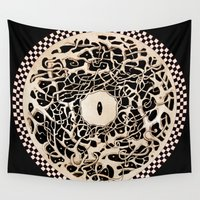 circle Wall Tapestries featuring Circle by Irina Vinnik