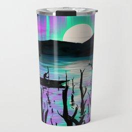 Night With Aurora Travel Mug
