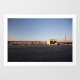 Donald Judd, Marfa TX Art Print