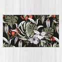 Dark tropical pattern I by mmartabc