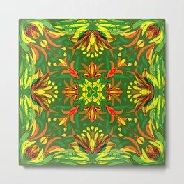 Abstract Garden 2a Metal Print