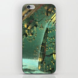 Cannon Battery (Crosshatch Explosion) iPhone Skin