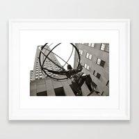 30 rock Framed Art Prints featuring 30 Rock  by troymac1892