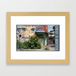 Photo: Sunday in Montreal (14 July 2013) Framed Art Print