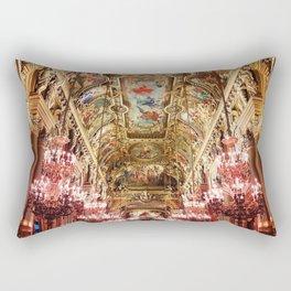 Opera Garnier Palace Rectangular Pillow