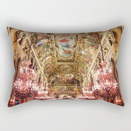 Opera Garnier Palace Rectangular Pillow