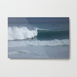 Crave The Waves Metal Print