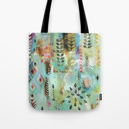 """Fly Free Between"" Original Painting by Flora Bowley Tote Bag"