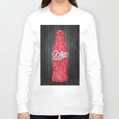 Flower Coke Long Sleeve T-shirt