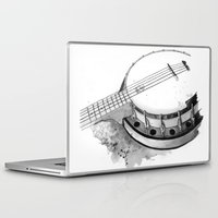 banjo Laptop & iPad Skins featuring Banjo by Ashley Silvernell Quick