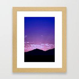 SW Mountain Sunrise - I Framed Art Print