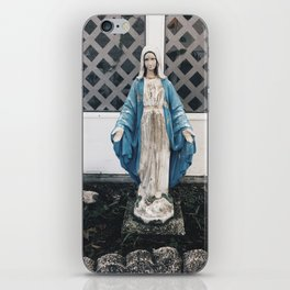 Eerie Mary iPhone Skin