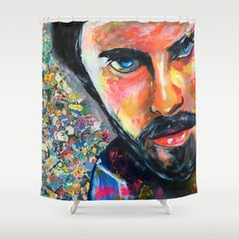 Jared Leto Shower Curtain