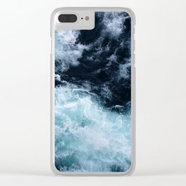 Lake Superior #4 Clear iPhone Case