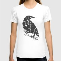 literary T-shirts featuring Quoth the raven by Literary Mint