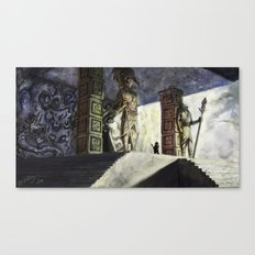 The Volcano Entrance Canvas Print