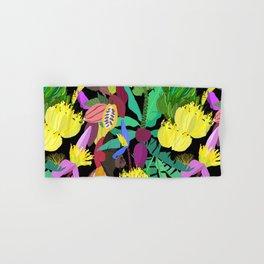 Tropical Fruit Bats in Night Black Hand & Bath Towel