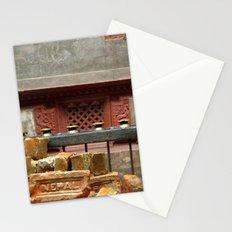 Fu and Nepal Bricks Stationery Cards