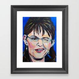 Taliban Republican: Sarah Palin Framed Art Print