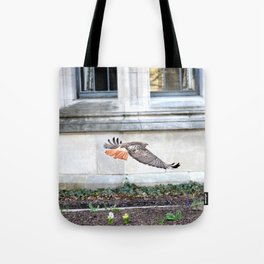 Floating urban hawk 12 Tote Bag