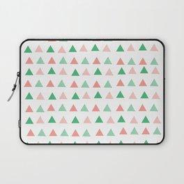 Bouncy Triangles // Pattern Art Laptop Sleeve