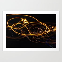 Electric Lines Art Print