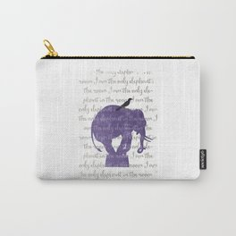 the only elephant Carry-All Pouch