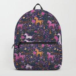 Unicorns Dancing in an Enchanted Garden Backpack