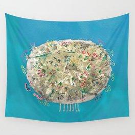 Poofy Dirtsprinkle Wall Tapestry