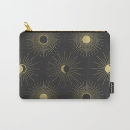 Moon and Sun Theme Carry-All Pouch