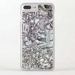 Ride The Spiral Clear iPhone Case